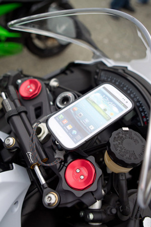 Motorcycle Fork Clamp Phone Mount (53MM)